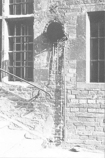 Jedna ze ścian Ratusza Gdańskiego.